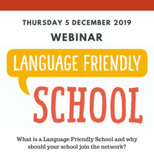 Webinar Language Friendly School