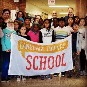 Language Friendly School in Toronto, Canada