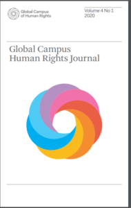 cover Global Campus Human Rights Journal